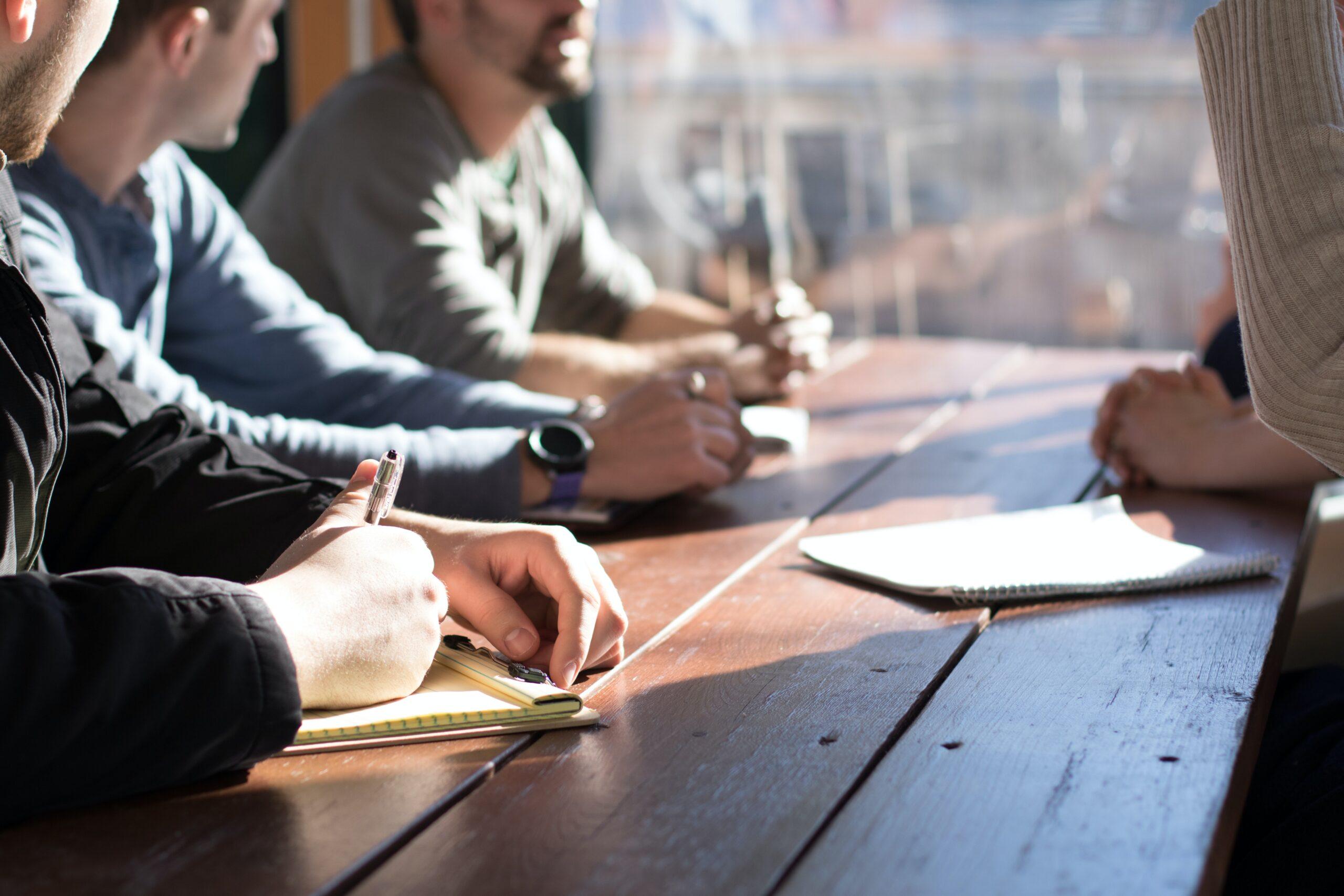 Team success in large organizations
